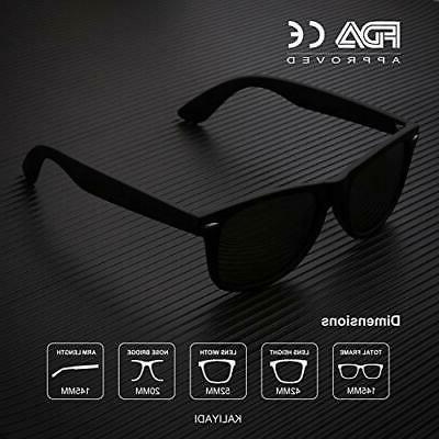Polarized Sunglasses and Black/Blue/Red